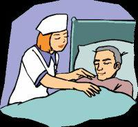 сиделка для больного